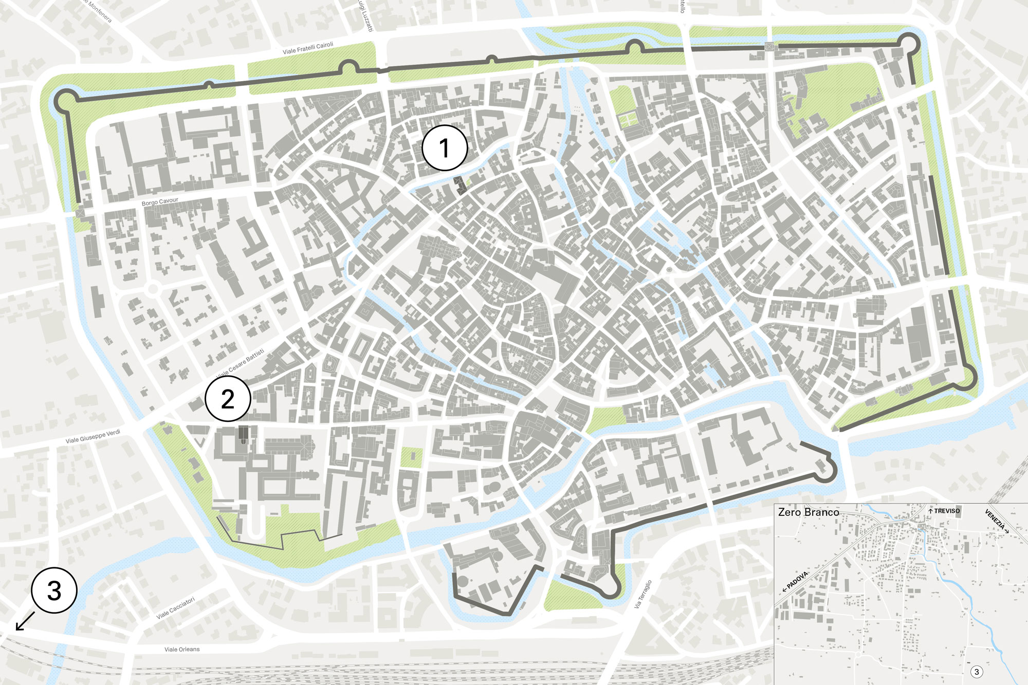 Culturae - Mappa di Treviso